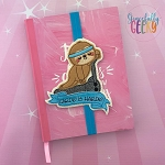 Cardio is hardio Book Band ITH Embroidery Design - 5x7 Hoop or Larger