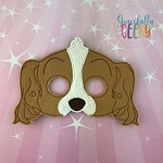 Cocker Spaniel Mask  Embroidery Design - 5x7 Hoop or Larger