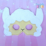 Llama Mask  Embroidery Design - 5x7 Hoop or Larger