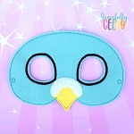 Pigeon Mask  Embroidery Design - 5x7 Hoop or Larger