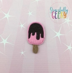 Popsicle Chocolate Set ITH Embroidery Design 4x4 hoop (and larger)
