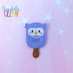 Popsicle Owl Set ITH Embroidery Design 4x4 hoop (and larger)