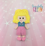 Sonia Dress up Doll and accessories - Embroidery Design 5x7 hoop or larger