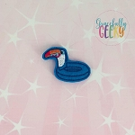 Toucan Pool Floatie Feltie ITH Embroidery Design 4x4 hoop (and larger)