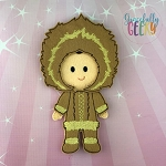William Dress up Doll  - Embroidery Design 5x7 hoop or larger