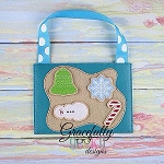 Cookie Dough Set Busy Bag Embroidery Design - 5x7 Hoop or Larger