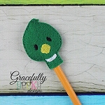 Duck Pencil Topper ITH Embroidery Design 4x4 hoop (and larger)
