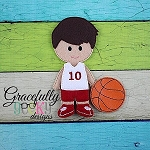 Michael Dress up Doll - Embroidery Design 5x7 hoop or larger