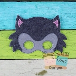 Bad Wolf Felt Mask Embroidery Design - 5x7 Hoop or Larger