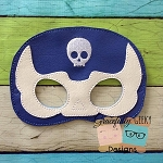 Luchador 1 Felt Mask Embroidery Design - 5x7 Hoop or Larger