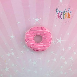 Donut 4 Stuffie Embroidery Design - 4x4 Hoop or Larger {Release: Sept18 W3 10/26}