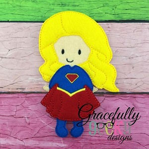 Jazzy Dress up Doll - Embroidery Design 5x7 hoop or larger