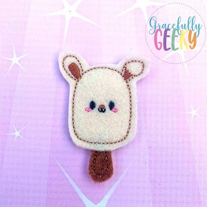 Popsicle Bunny Set ITH Embroidery Design 4x4 hoop (and larger)