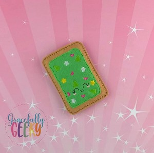 Christmas Sprinkles Poptart  Embroidery Design - 4x4 Hoop or Larger