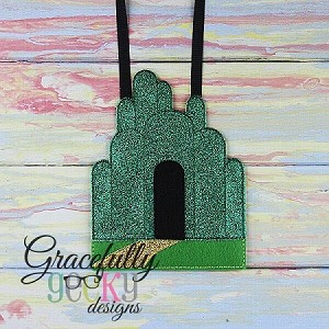 Emerald City Busy Bag Embroidery Design - 5x7 Hoop or Larger