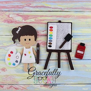 Paint Set Accessories for GGD Dress Up Dolls