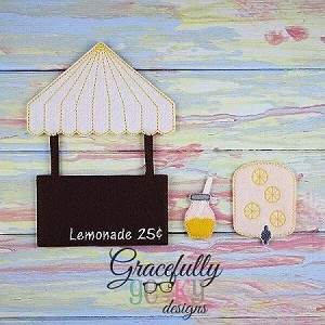 Lemonade Stand Accesories for GGD Dress Up Dolls