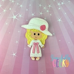 Kate Dress up Doll and accessories - Embroidery Design 5x7 hoop or larger