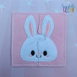 Bunny Toddler 4x4 Hoop Puzzle Embroidery Design