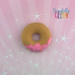 Donut 1 Stuffie Embroidery Design - 4x4 Hoop or Larger Release: Sept18 W3 10/26