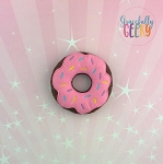 Donut 2 Stuffie Embroidery Design - 4x4 Hoop or Larger {Release: Sept18 W3 10/26}