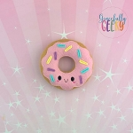 Donut 6 Stuffie Embroidery Design - 4x4 Hoop or Larger {Release: Sept18 W3 10/26}