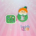 Elf iSpy Embroidery Design - 5x7 Hoop or Larger