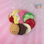 Cheeseburger Play Food Stuffie Set Embroidery Design - 4x4 Hoop or Larger Release: Sept18 W1 10/14