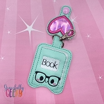 Book Sanitizer Holder Embroidery Design - 5x7 Hoop or Larger