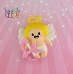 Cupid Stuffed Doll Embroidery Design - 5x7 Hoop or Larger