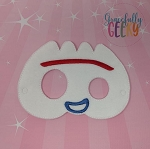 Sporky Toy Mask Embroidery Design - 5x7 Hoop or Larger