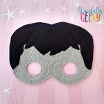 Evil Clone Mask Embroidery Design - 5x7 Hoop or Larger