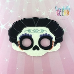 Mama Mask Embroidery Design - 5x7 Hoop or Larger