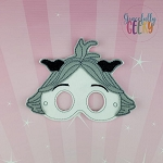 SF Flee Mask Embroidery Design - 5x7 Hoop or Larger