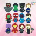 Infinity finger puppet set - Embroidery Design