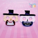 Mayor Mask Embroidery Design - 5x7 Hoop or Larger