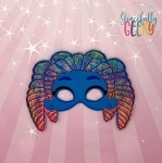 SM Zoe Mask Embroidery Design - 5x7 Hoop or Larger