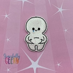 Fat Cutie Feltie ITH Embroidery Design 4x4 hoop (and larger)