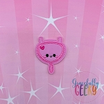 Kawaii Bladder Feltie ITH Embroidery Design 4x4 hoop (and larger)