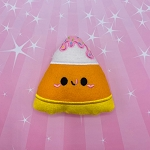 Kawaii Frosting Candy Corn Stuffie Embroidery Design - 5x7 Hoop or Larger