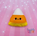 Kawaii Candy Corn Stuffie Embroidery Design - 5x7 Hoop or Larger