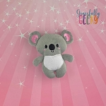 Koala Stuffed Doll Embroidery Design - 5x7 Hoop or Larger