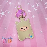 Llama Sanitizer Holder Embroidery Design - 5x7 Hoop or Larger