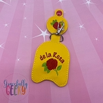 Mazapan Sanitizer Holder Embroidery Design - 5x7 Hoop or Larger