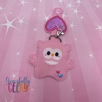 Owl Sanitizer Holder Embroidery Design - 5x7 Hoop or Larger