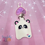 Panda Sanitizer Holder Embroidery Design - 5x7 Hoop or Larger
