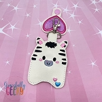 Zebra Sanitizer Holder Embroidery Design - 5x7 Hoop or Larger