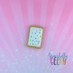 Confetti Poptart  Embroidery Design - 4x4 Hoop or Larger