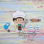 Baking Set Accessories for GGD Dress Up Dolls